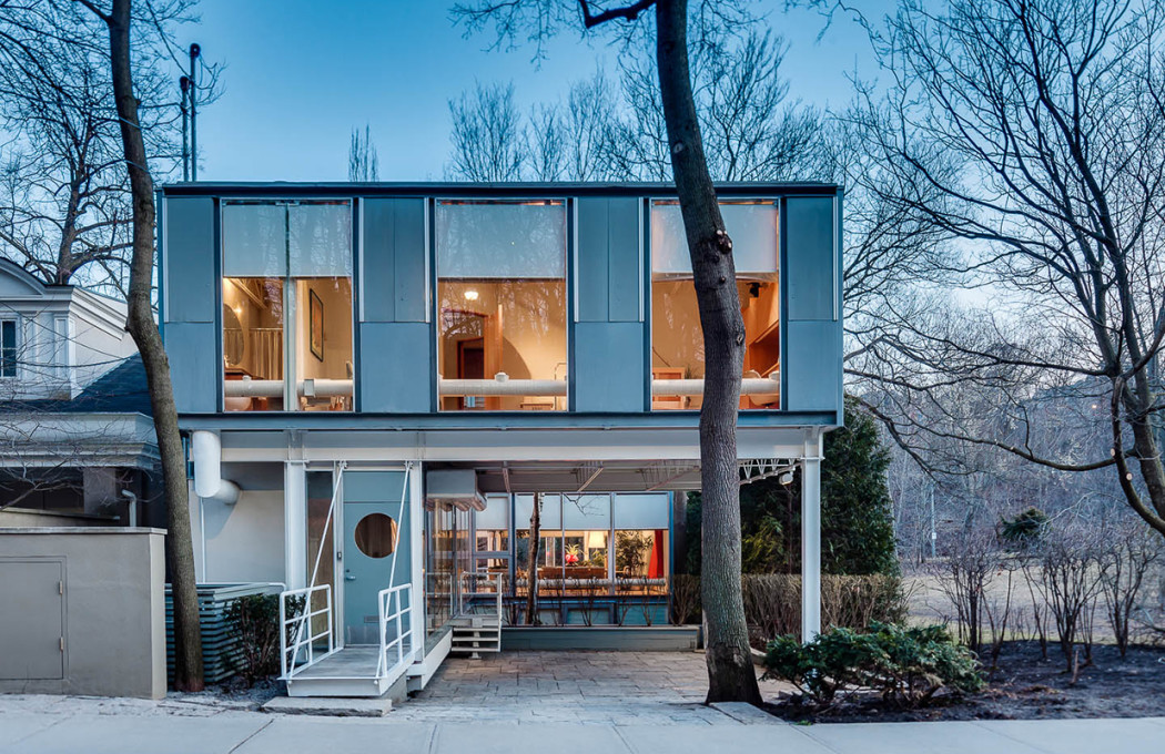 House of the week wolf house in toronto by barton myers for In house architect