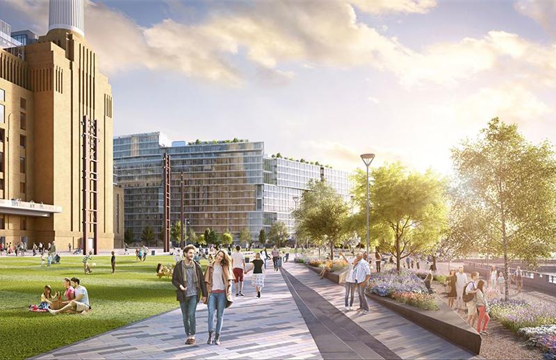 Battersea Power Station S Public Park Plans Revealed