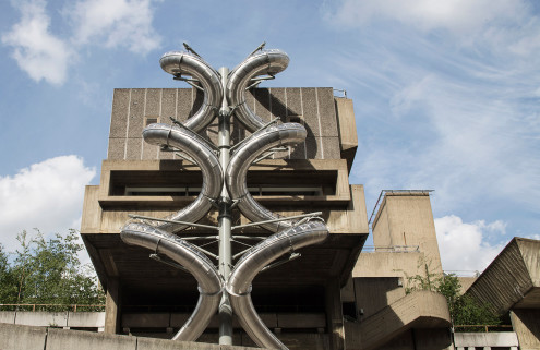 Carsten Höller gives the Hayward Gallery's Brutalist architecture a spin