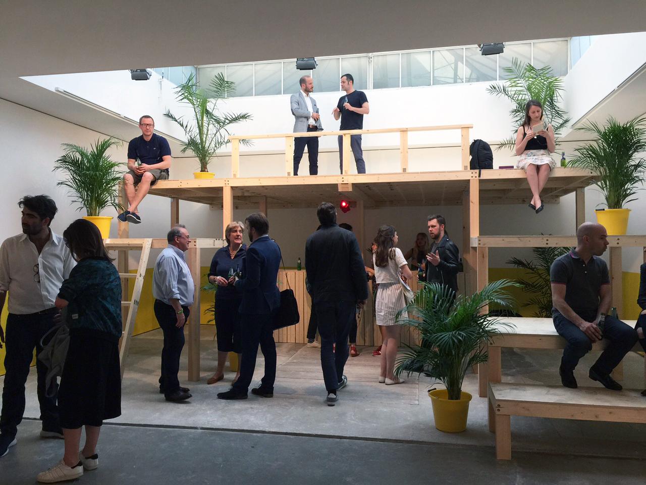 Edel Assanti opening of Radamés 'Juni' Figueroa solo show, June 2015