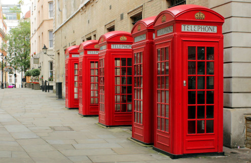 London's iconic red telephone boxes set for new role