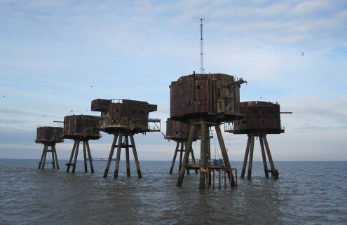 Hotel mooted for WWII Redsand sea forts in the Thames Estuary