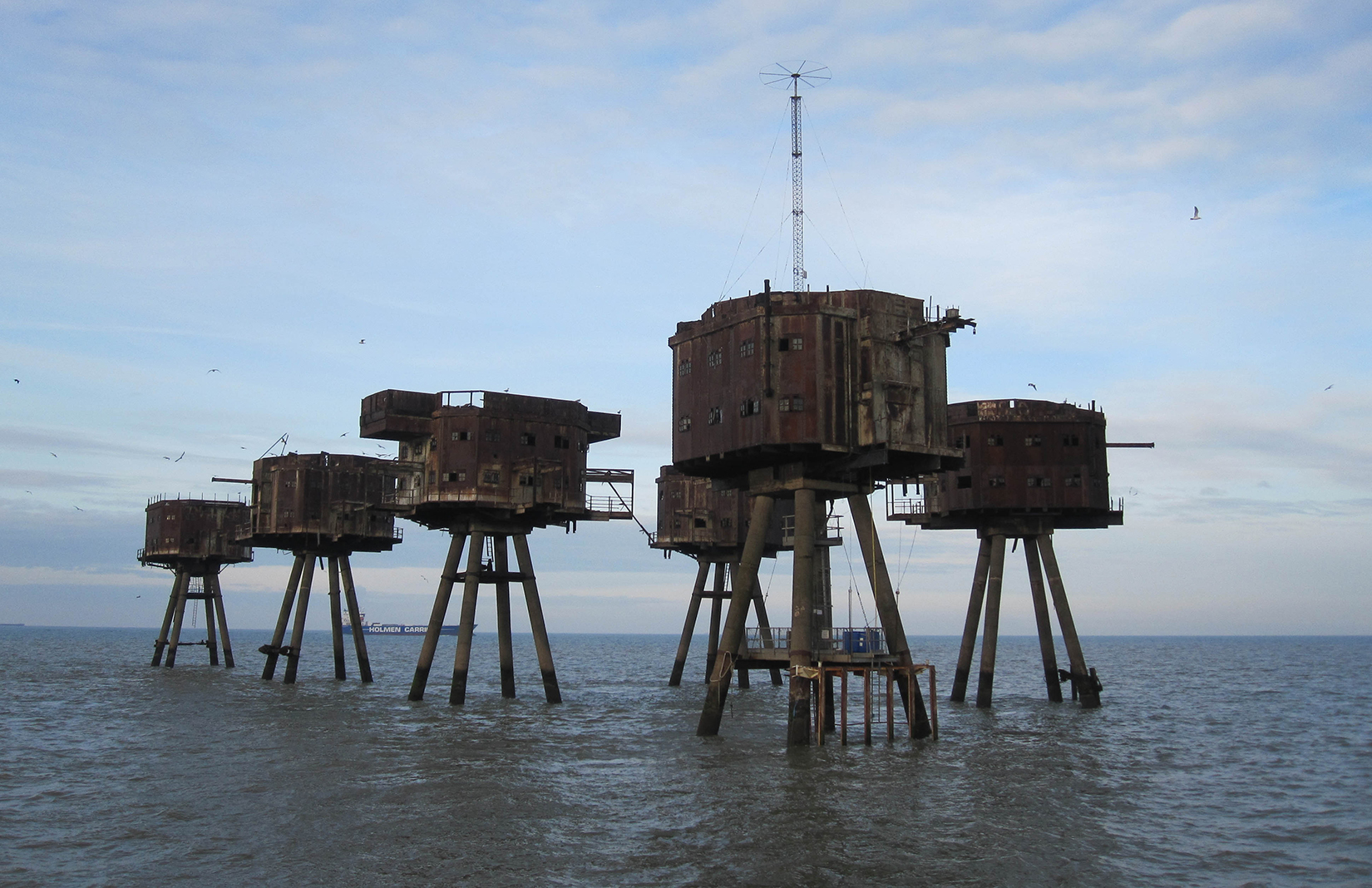 Bedroom Fort Hotel Mooted For Wwii Redsand Sea Forts In Thames Estuary