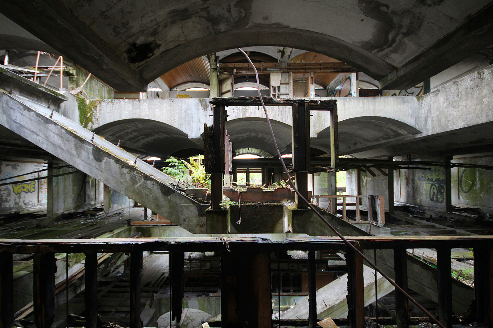 St. Peter's Seminary, Cardross. Architects Gillespie, Kidd & Coia, 1966. Photography: Trevor Patt
