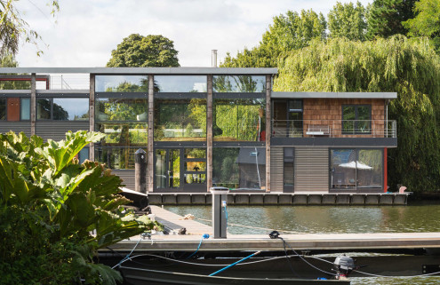 Three houseboats redefining the life aquatic