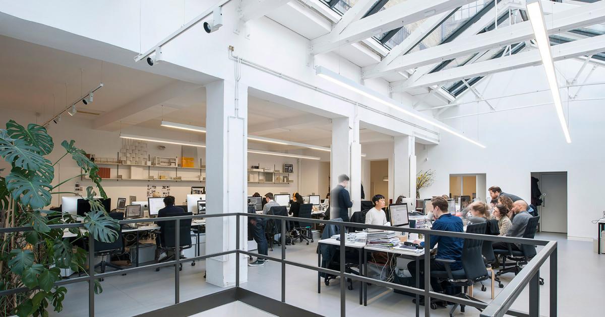 Inside Universal Design Studio's Shoreditch HQ The Spaces Mesmerizing Office Design Studio