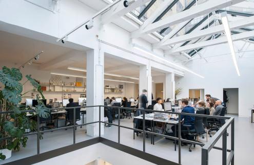 Universal Design Studio's office in Shoreditch