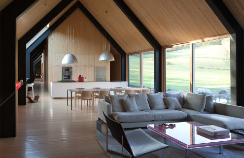 House of the week: architect Rick Joy's stone and shingle Woodstock Farm