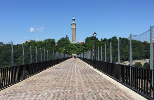 New York's High Bridge reopens after 45 years