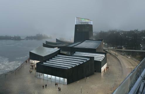 Moreau Kusunoki Architectes win Guggenheim Helsinki Design Competition