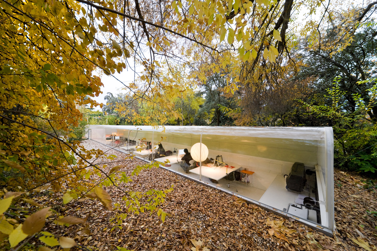 Office in the Woods by selgascano, Madrid, Spain. Photography: Iwan Ban