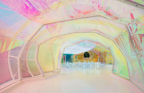 SelgasCano's kaleidoscopic Serpentine Pavilion is coming to LA