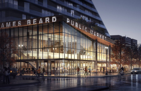 Snøhetta reveals designs for Portland's 80,000 sq ft James Beard Public Market