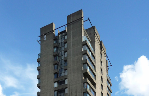 The Barbican Estate's 'fourth tower'