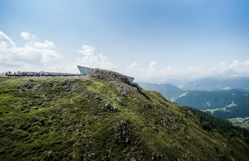 Zaha Hadid moves mountains to open new Messner Museum