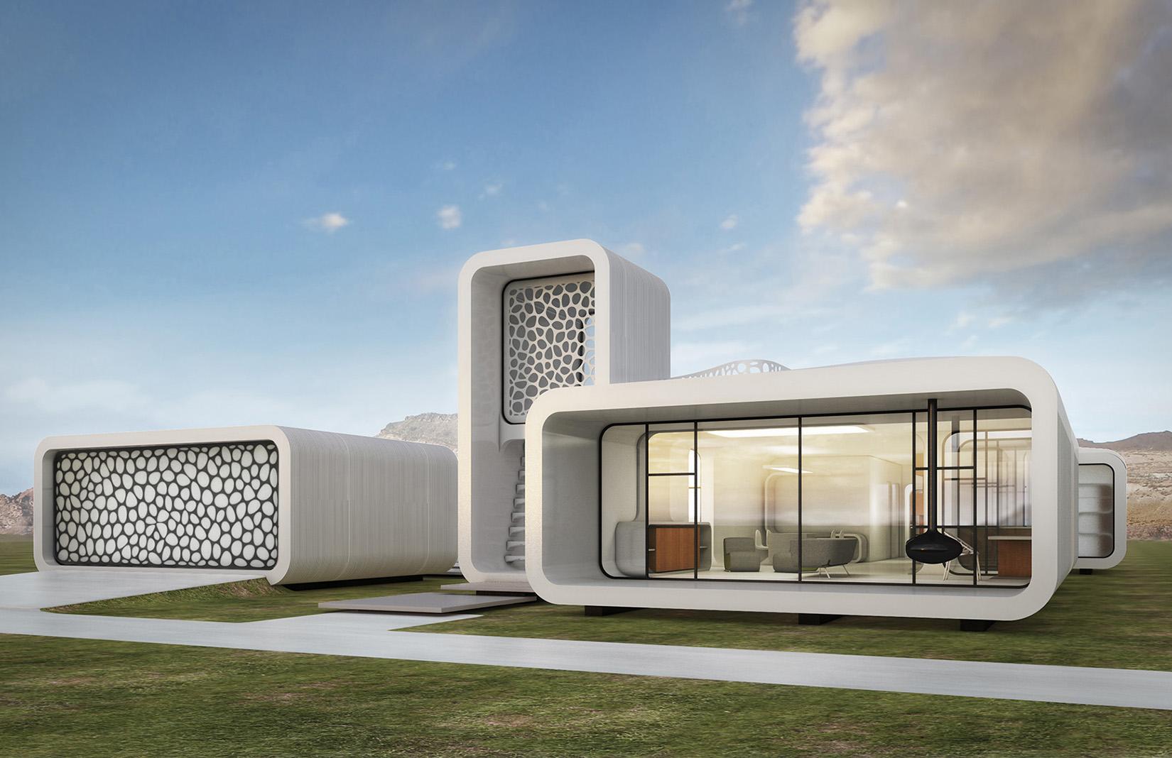 3D Printed Dubai Office Building