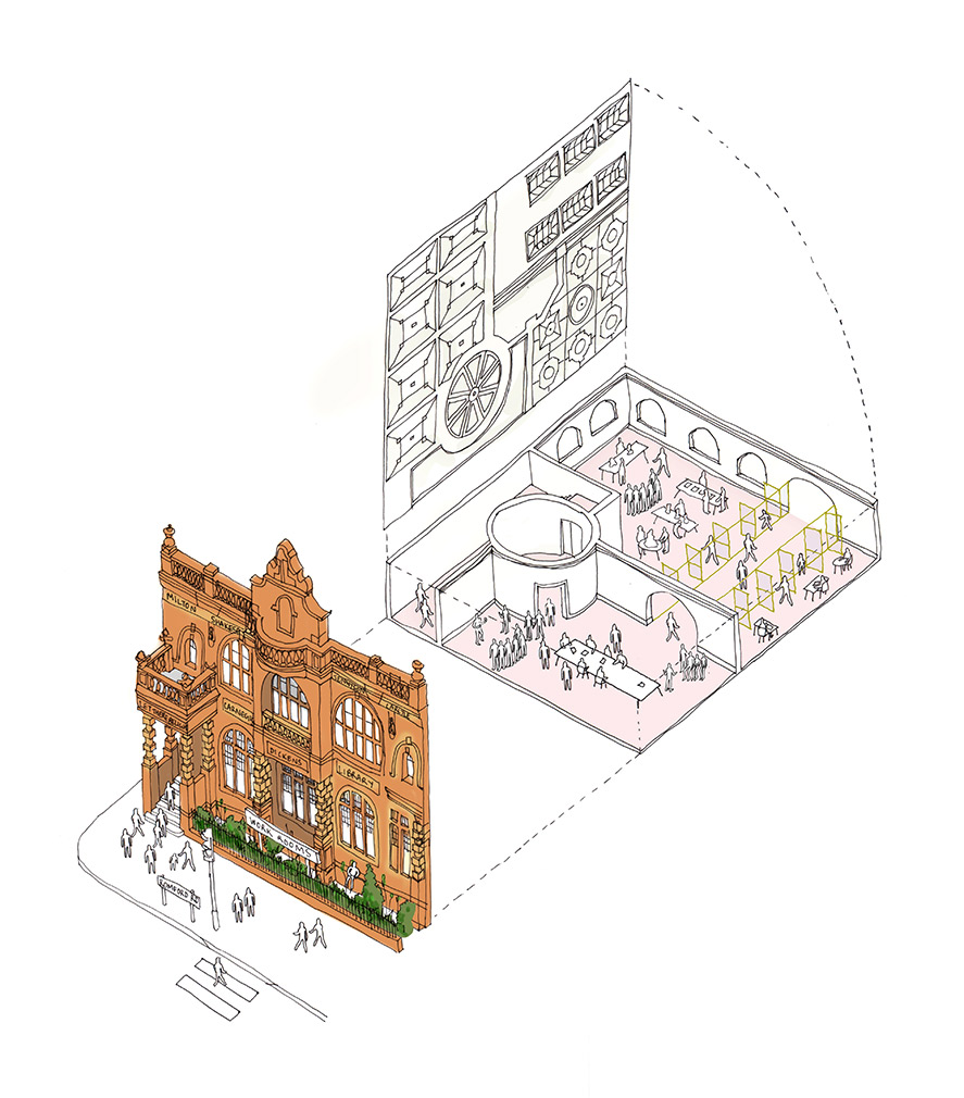 Plans for Old Manor Park Library