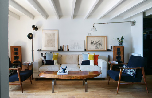 Inside the home and studio of Wo & Wé lighting designer Olivier Abry