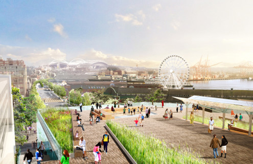 Why Seattle is demolishing an urban highway to revitalise its waterfront