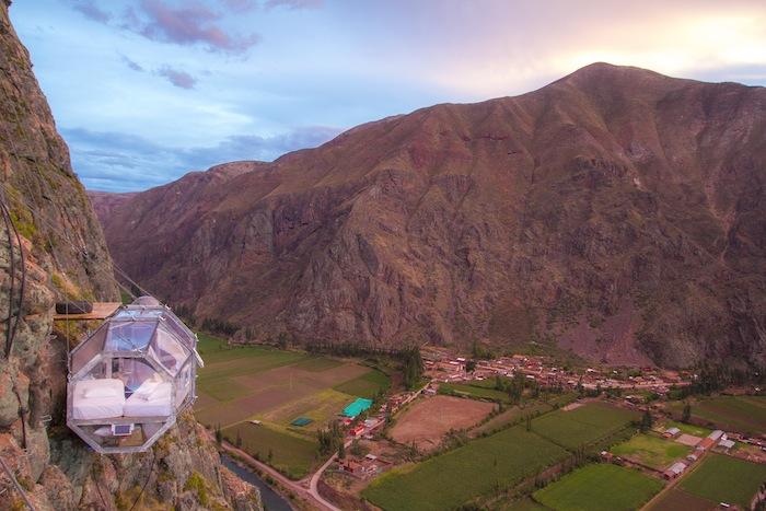 Skylodge, Peru