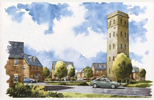Transformation of Croydon's Cane Hill asylum begins