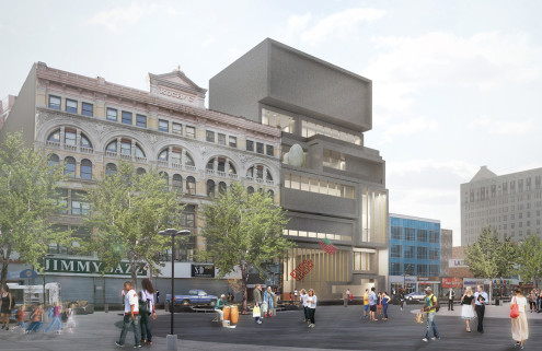 David Adjaye designs a new home for the Studio Museum in Harlem