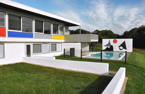 Marcel Breuer designed Stillman House