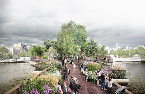 Design 'A Folly For London' to rival the Garden Bridge