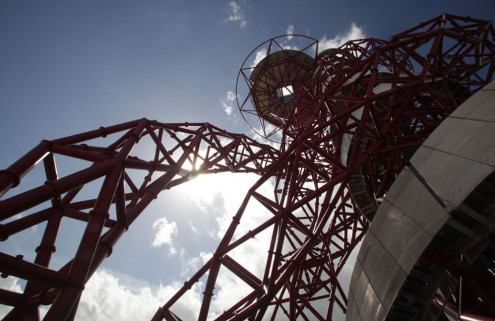 London's Orbit Tower will become a giant helter skelter
