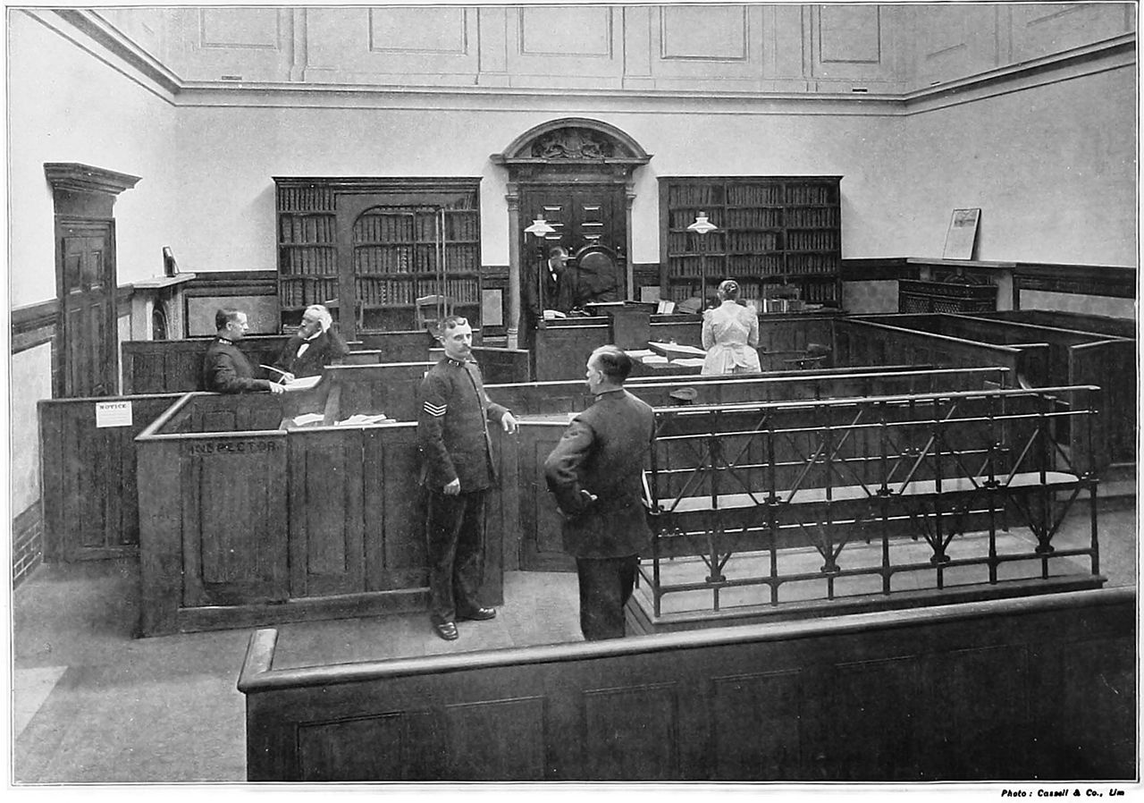 Bow Street magistrates, 1895