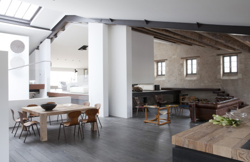 Property of the week: a boatyard converted by Jean-Michel Wilmotte in Ile-de-Ré