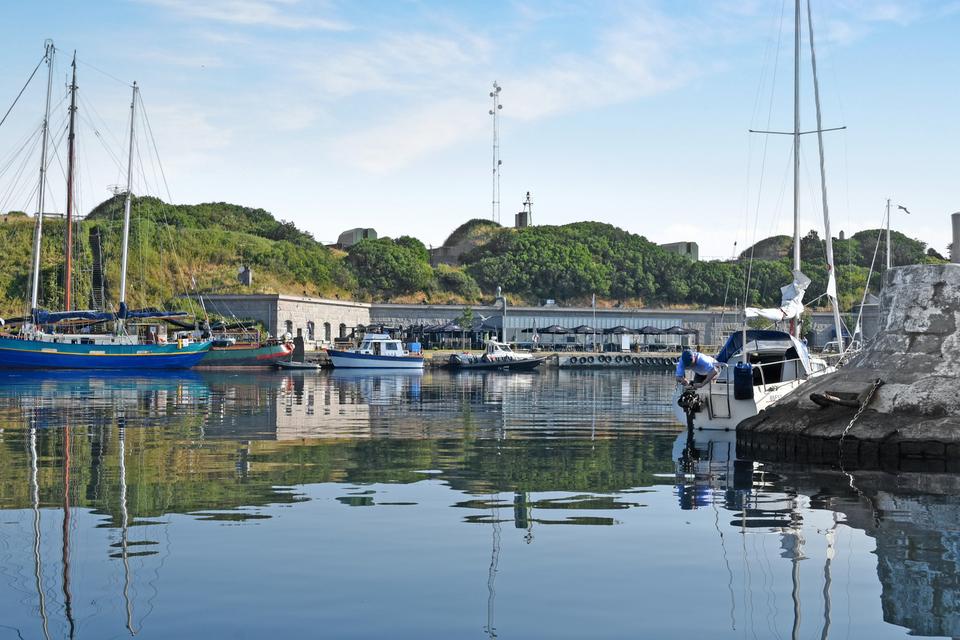 Flakfortet private island in Copenhagen