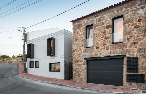 Filipe Pina and Maria Inês Costa pair stone and concrete in Portugal