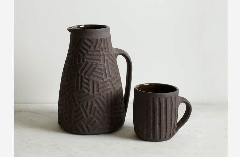 Ceramic tablewares by Nicola Tassie from The New Craftsmen