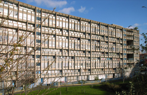 Brutalist Robin Hood Gardens estate fails to win listing (again)