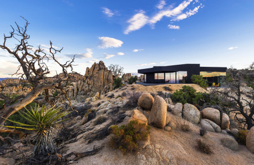 Property of the week: Black Desert House in Yucca Valley, California