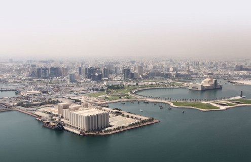 Heavyweight architects vie for Doha's Art Mill museum