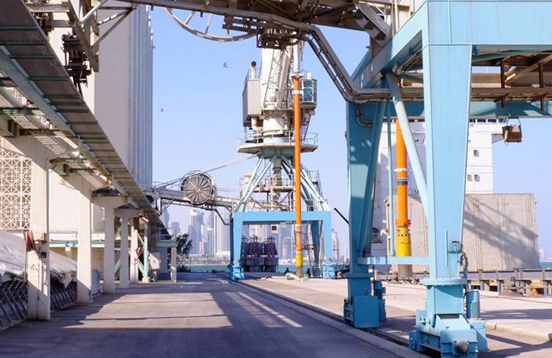 Doha Art Mill flour mills and silos