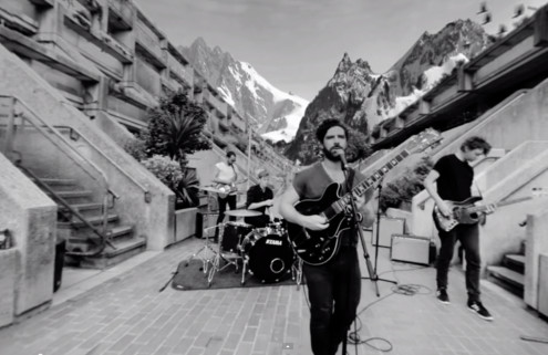 Foals reveal interactive video for 'Mountain At My Gates' shot at Brutalist Alexandra Road estate
