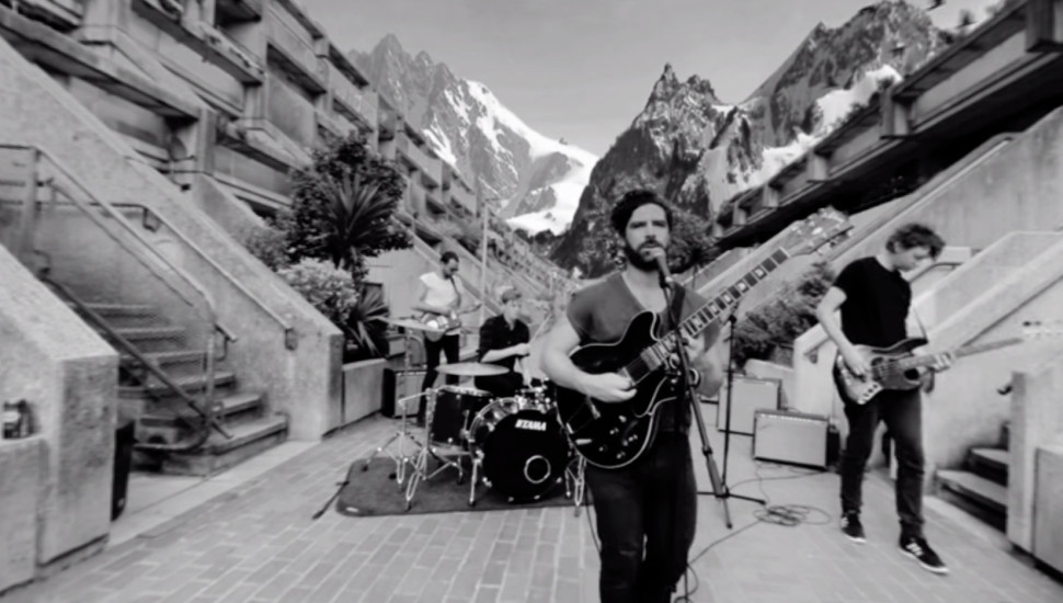 homepage, Foals video shot at the Alexandra Road Estate