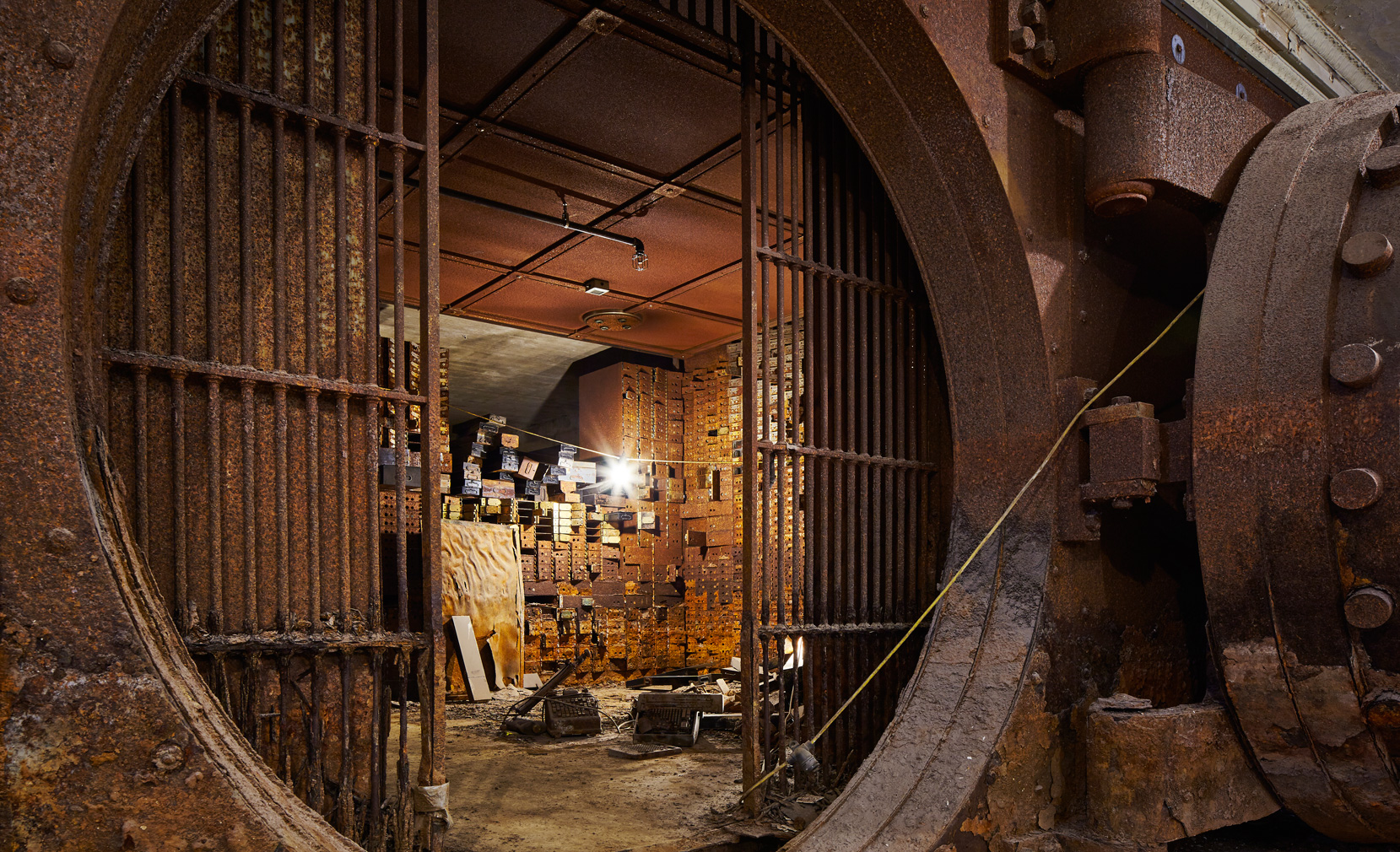 bank vault stony island bank tom harris