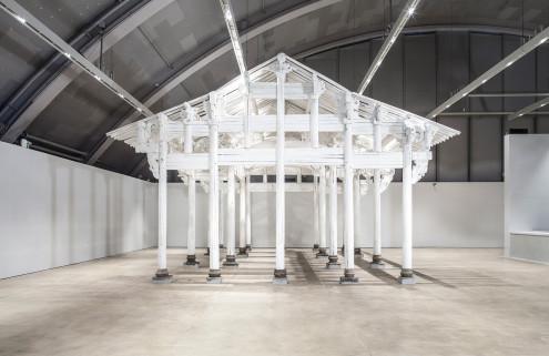Helsinki Art Museum reopens in the city's historic Tennispalatsi building