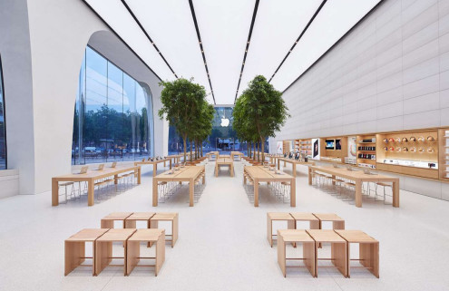 5 finds from across the web: Apple store revamp, a billionaire's bunker and more