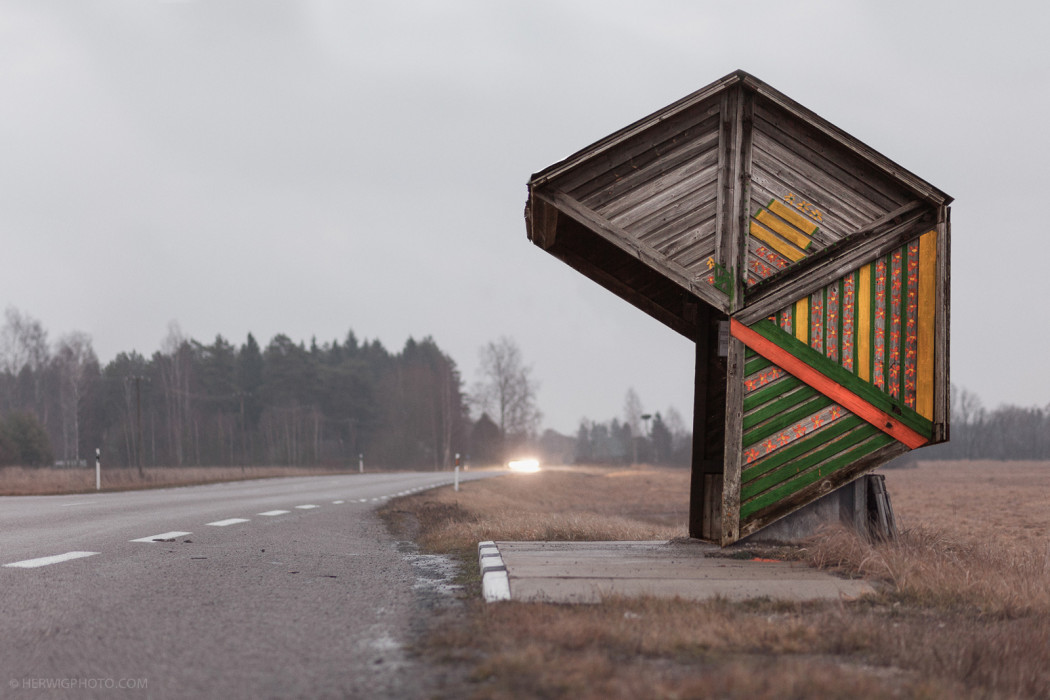 Christopher Herwig Photographs Space Age Soviet Bus Stops