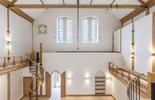 Property of the week: a sunday school conversion in Surrey