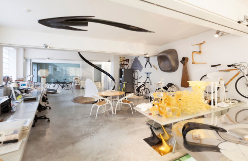 Designer Ross Lovegrove's Notting Hill home and studio goes on sale for £12m