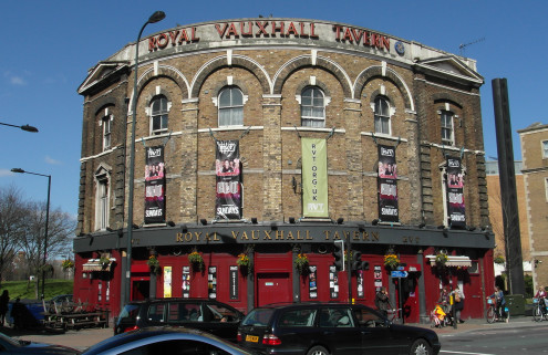 London LGBT pub Royal Vauxhall Tavern given Grade II listing