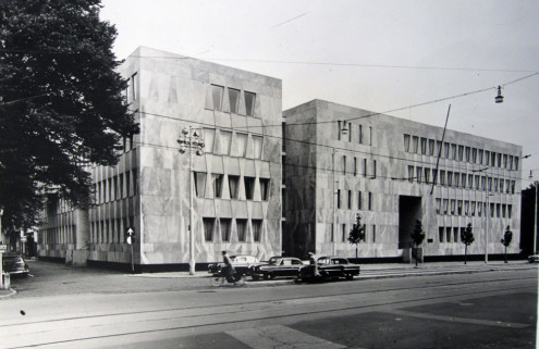 Breuer's Brutalist embassy to house Escher Museum in The Hague?