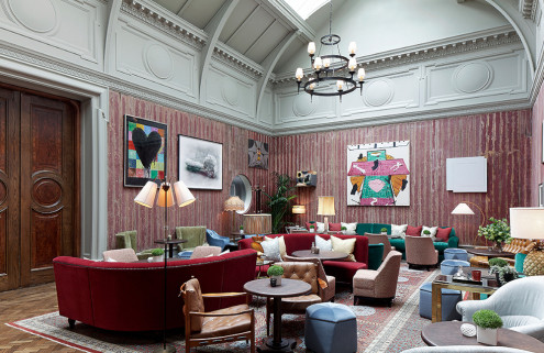 Martin Brudnizki gives the RA's Academicians' Room a colourful refresh