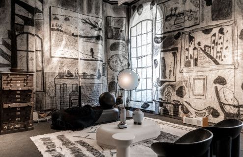 Faye Toogood conjures a dilapidated country manor inside Somerset House